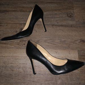 2 pairs of pointy toe black high heels 🖤🖤